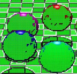 Interpolated with a step of two, showing pixels that will be interpolated