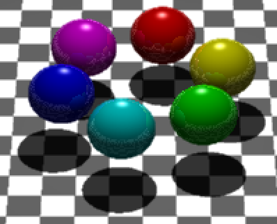 Example ray-traced image